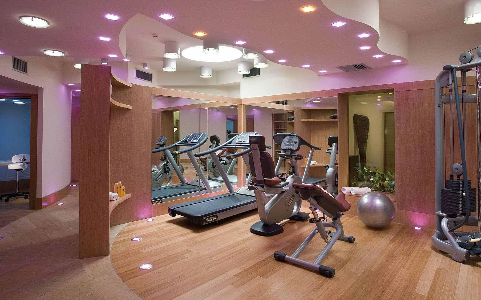 Gym at the L'Ea Bianca Luxury Resort