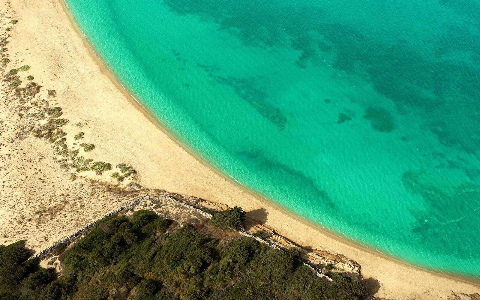 Beach at L'Ea Bianca Luxury Resort