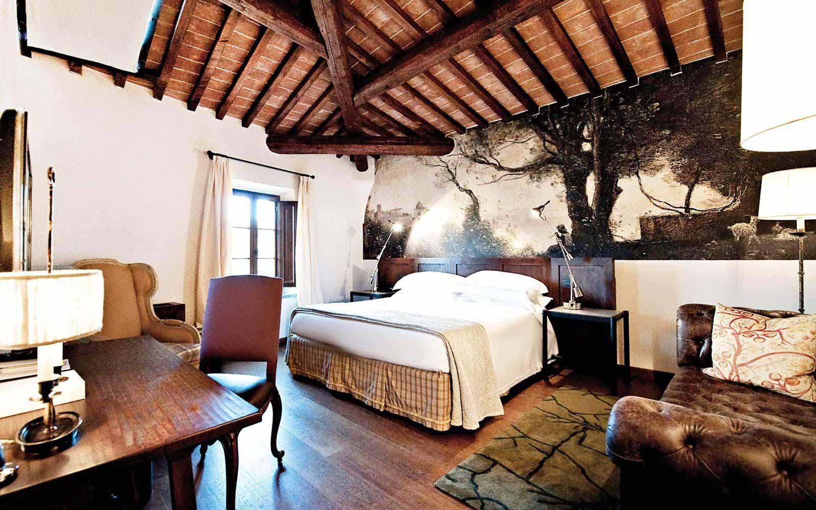 Deluxe room at Castel Monastero Tuscan Resort & Spa