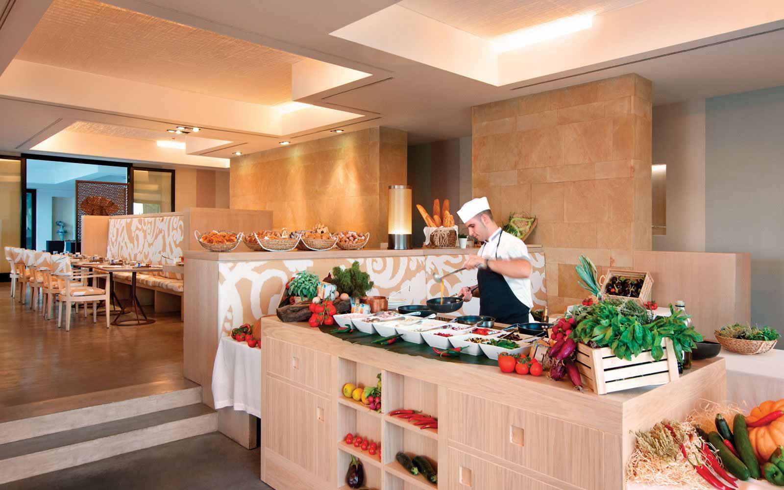Verdura Resort Breakfast buffet