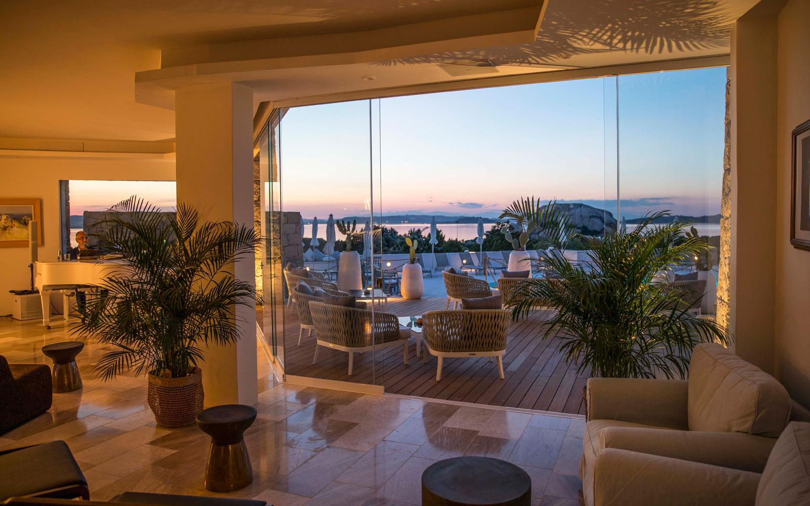 Bar Inside View - Sunset