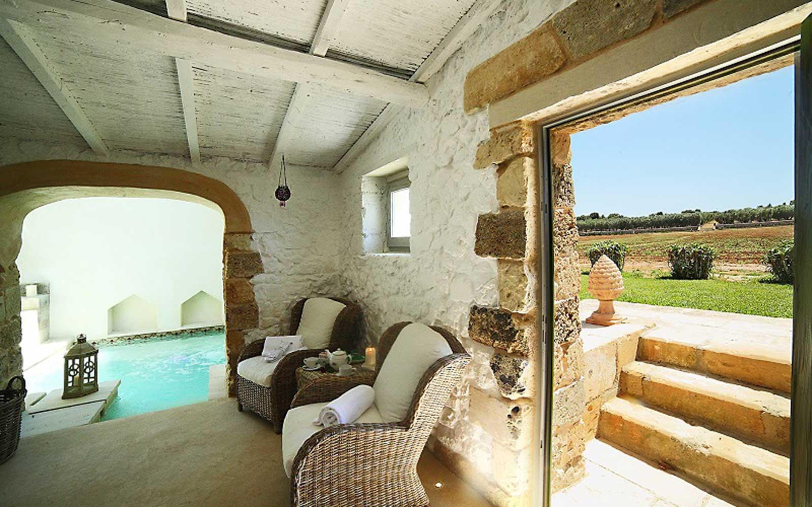 Indoor Pool at Naturalis Bio Resort & Spa
