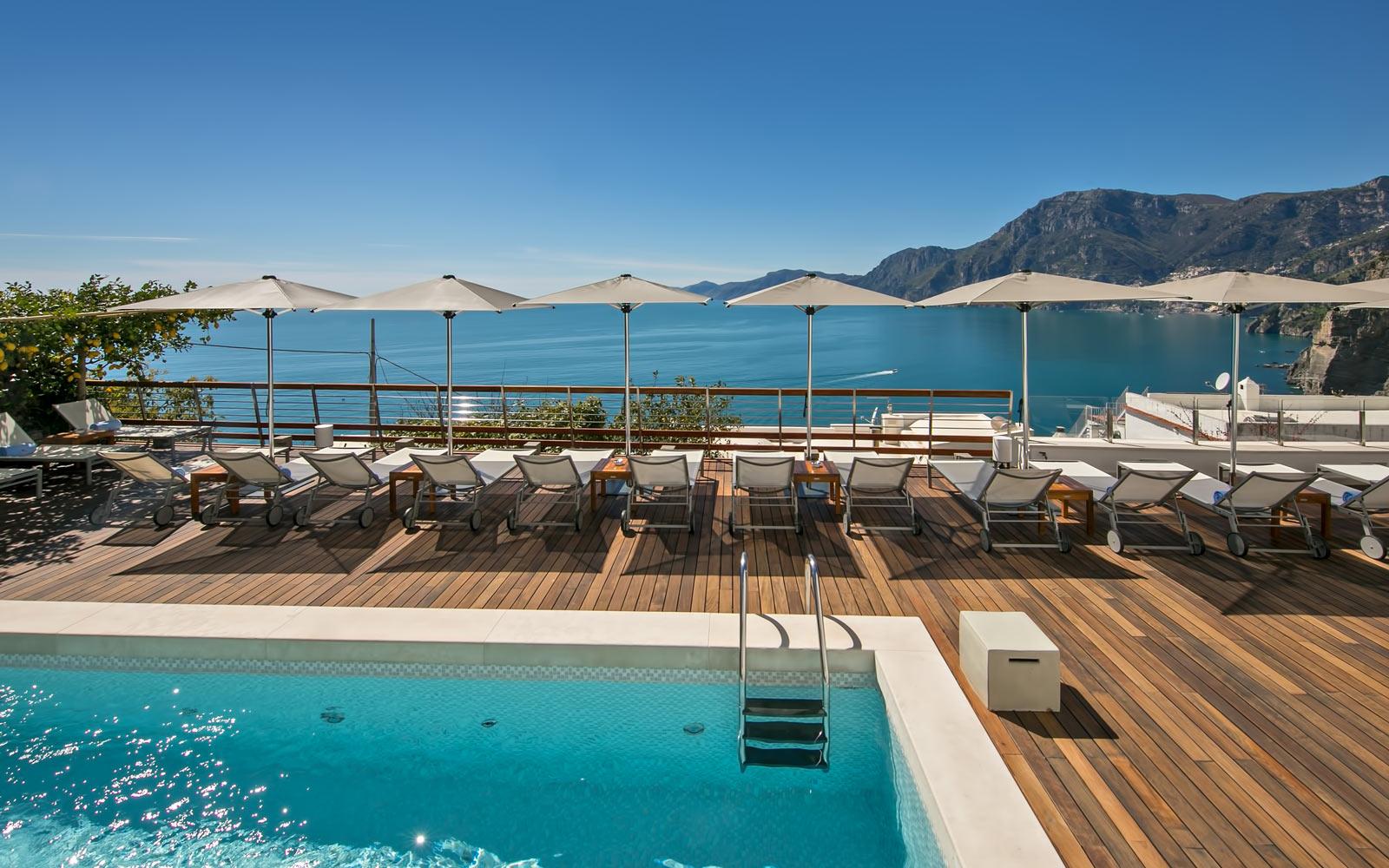 Poolside View at Casa Angelina